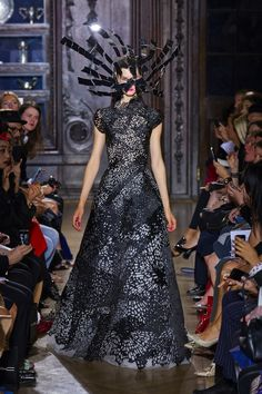 Gothic Couture: at Giles Spring 2013 London FW Show. Via Fashionista.com.