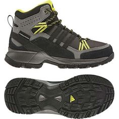 adidas Outdoor Flint II Mid CP Shoe - Kid's by adidas. $69.95. Suede leather and mesh upper will make these shoes protect feet, breath, and last. The Climaproof membrane will keep unwanted moisture out. Perfect shoes for a day outdoors, especially if its muddy out.