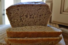 Grain-Free Italian Herb Sandwich Bread. Paleo <3 No gluten, grain, dairy, soy, or chemicals ever! Easy, no kneading either!