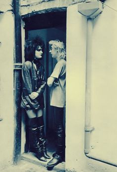 bananametallurgica: Siouxsie & Budgie….. - the wretched and the damned