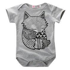 Baby Fox Onesie - Baby Neutral