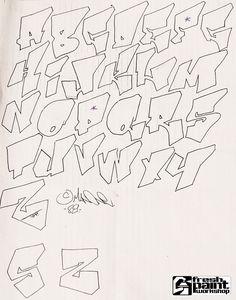 graffiti alphabet wildstyle - Google-søgning