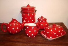 http://www.gingerinteriors.co.uk/kitchen-and-dining/collections/new-polka-dot-collection.html