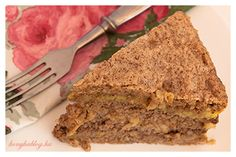 Torta Esterházy stílusban Naan, Meatloaf, Cukor, Paleo, Gluten, Beef, Food, Alcohol, Meat