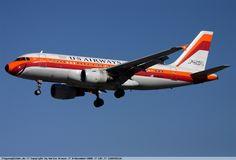 US Airways - Airbus A319 - N742PS - Los Angeles International Airport