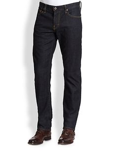 AG The Graduate Tailored-Fit Jeans from Saks