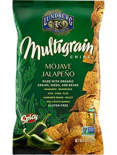 Just discovered Lundberg Mojave Jalapeno Multigrain Chips. Yummers with some guacamole