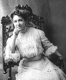 Mary Church Terrell: daughter of former slaves, was one of the first African-American women to earn a college degree... read on, it is fascinating!