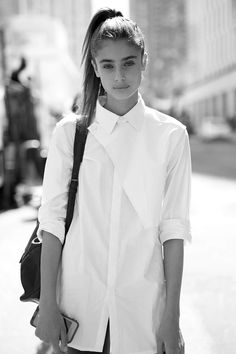 Models Off Duty: Taylor Marie Hill - Street Style, NYFW Spring 2015.