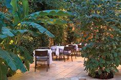 Καφετέριες με κηπο
