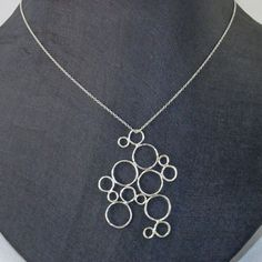 Bubble Pendant Sterling now featured on Fab.com -- If anyone is ever looking for gift ideas for me, I'm obsessed with bubbles/circles for some reason :-) I freaking love this soooooo much!!