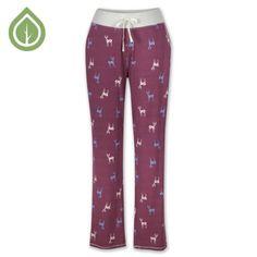 Deer Pajama Pant by
