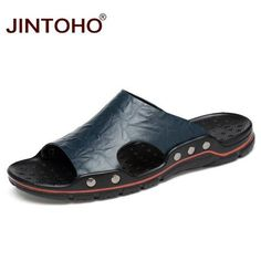 0a1f1875170 Male Slippers Casual Beach Shoes. Shoes Flats SandalsStrappy SandalsWedge  ...