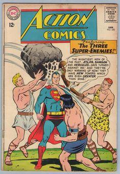 Action Comics 1, Fun Comics, Marvel Comics, Superman Girlfriend, Lar Gand, Val Zod, Jimmy Olsen, Silver Age Comics, New Gods