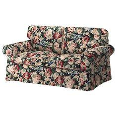 EKTORP sofa, with chaise longue/Lingbo multicolour - IKEA Ireland Ektorp Sofa Cover, Loveseat Covers, Söderhamn Sofa, Sofa Furniture, Ikea Couch, Canapé Design, Ikea Family, Sofa Frame, Loveseats