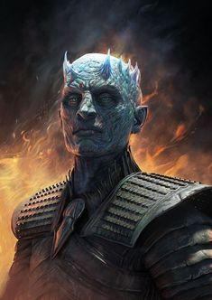 Arte Game Of Thrones, Game Of Thrones Artwork, Game Of Thrones Funny, Got White Walkers, Zombicide Black Plague, Dc Comics, Night King, Dark Art, Cyberpunk
