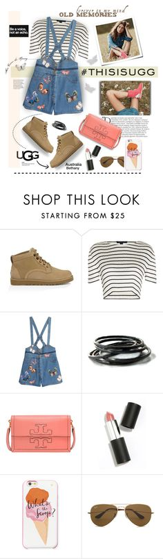 """""Contest Entry"" UGG Spring Shoes..."" by angiesprad ❤ liked on Polyvore featuring UGG Australia, Alexander Wang, Valentino, Balmain, Tory Burch, Sigma Beauty, Kate Spade, Ray-Ban, ugg and contestentry"