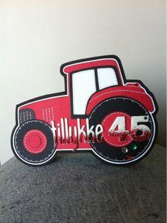 bydonna: Rød traktor