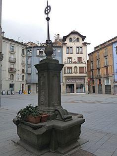 Plaça de Sant Eudald, Ripoll, Gerona (BARCELONA, SPAIN) -Ripoll I'll never forget your hospitality!