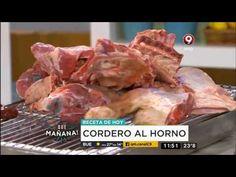 Receta de hoy: Cordero al horno - YouTube Beef, Youtube, Food, Dress Clothes, Recipes, Meat, Essen, Ox, Ground Beef