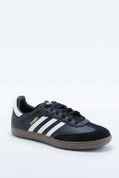 adidas Originals Samba Black and Gumsole Trainers