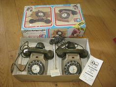 Téléphone jouet ancien 1970 France Jouet Jeux GARLIN - Tulle