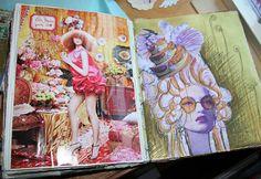 A look inside Anahata Katkin's journal...incredible!