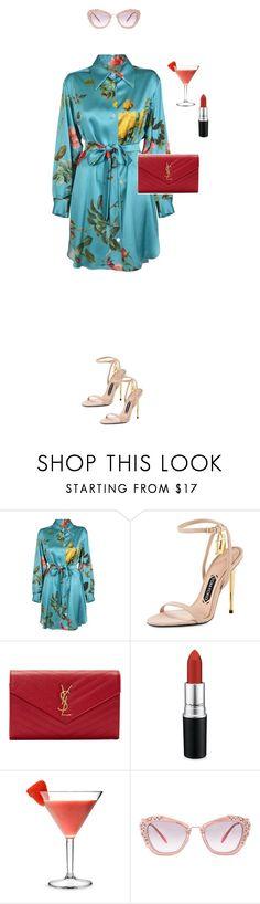 """Başlıksız #148"" by zeynepkartal on Polyvore featuring moda, Tom Ford, Yves Saint Laurent, MAC Cosmetics, Miu Miu, summerdate ve rooftopbar"