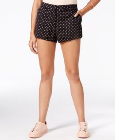 One Hart Juniors' Printed Shorts, Only at Macy's