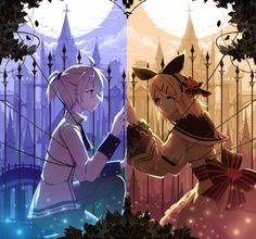 Romeo and Juliet Rin E Len, Kagamine Rin And Len, Yandere, Manga Anime, Servant Of Evil, Vocaloid Characters, Miku Cosplay, Fandoms, Hatsune Miku