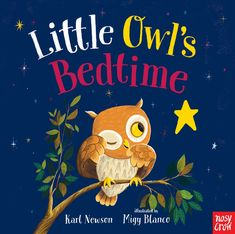 Little Owl's Bedtime by Karl Newson illustrated by Migy Blanco Bedtime Stories, Crow, Wildlife, Snoopy, Teddy Bear, Illustration, Toddlers, September, Animals