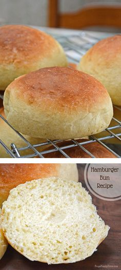 Finally I've found a homemade hamburger bun recipe we all love. If you're looking for the perfect hamburger bun recipe you have to try this one. This is a great recipe to make for your summer barbecues. They are also freezer friendly too.