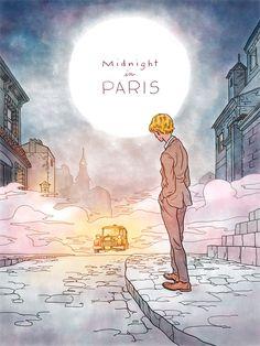 Midnight in Paris Poster