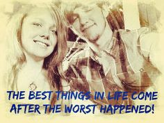 They do! Everything gets better! The heart finds a away