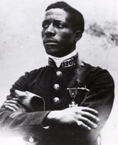 """""""Eugene Bullard was the first African American military pilot to fly in combat and the only African American pilot to fly during WWI. Ironically he never flew for the United States, but rather for the Aéronautique Militaire in France."""" From here"""