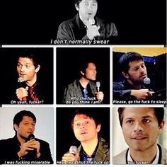 Only Misha can make a dirty word beautiful