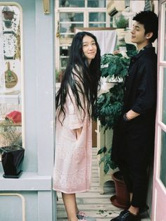 giovaniux Stylish Couple, Love Is In The Air, Fashion Couple, Comme Des Garcons, How To Pose, Mori Girl, Looks Style, Mode Style, Asian Style