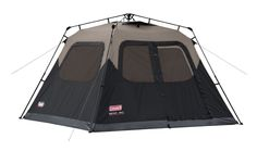 Coleman 6 Person Instant Cabin Tent Family Camping 1 Minute Easy Setup Leak-Free #Coleman