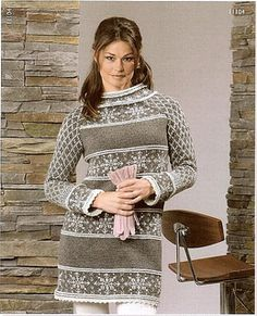 Photo Gallery :: Sidsel J Høivik Color Patterns, Knitwear, Knit Crochet, Photo Galleries, Knit Sweaters, Cardigans, One Piece, Knitting, How To Wear