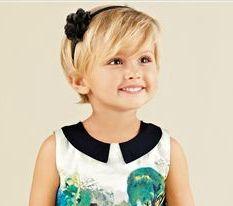 Little girls who want short hair
