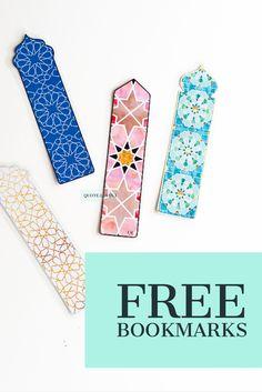 Diy bookmark for ramadan