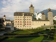 Castles In Switzerland Wallis, Travel Wallpaper, Hd Wallpaper, Switzerland Wallpaper, Latest Wallpapers, Free Photos, Taj Mahal, To Go, Castle