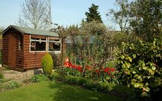 Don't fight it, chaps – one day you'll dig gardening and have a garden shed,   too
