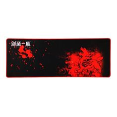 XXL Computer Desk Large Mouse Pad Wide Gaming Mouse Keyboards Non Slip Red Black #LES #Custom
