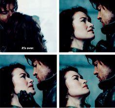 """It's over"" Milady & Athos"