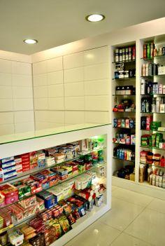 Pharmacy Shelving, Pharmacy Shelves, Pharmacy Design, Pharmacy Interior, modern pharmacy, Future Pharmacy, drug store design, Creative pharmacy shelves, Creative pharmacy shelving