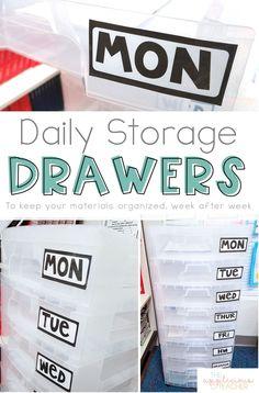 Staying organized do