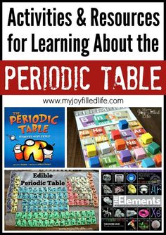 Atoms molecules 10 fun ways to learn learning building and models activities resources for learning about the periodic table my joy filled life urtaz Gallery