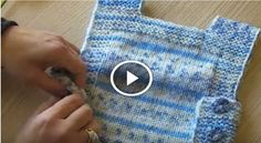 Baby Boy Sweater Making Explanation Video Lecture section of information related to. Baby Knitting Patterns, Baby Patterns, Knitted Gloves, Fingerless Gloves, Baby Boy Sweater, Boys Sweaters, Sweater Making, Crochet For Kids, Baby Photos