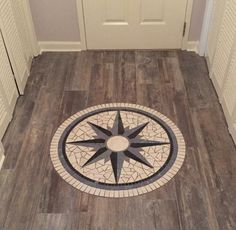 Custom Nautical Star Mosaics welcome every guest to your home!!!